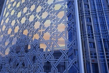 Modern Islamic Design / We not only produce beautiful Islamic geometric and floral designs but use our information technology expertise to produce designs programmatically. Computational design and modern fabrication methods allow us to implement Islamic design elements such as Islamic patterns and floral arabesques in all sorts of modern contexts.