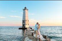 Engagement Photos / Engagement Photos in Traverse City, Lansing, Ann Arbor, Kalamazoo, Detroit, Grand Haven and Northern Michigan.
