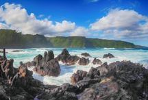 Portraits of Maui Island / Scenic landscape photography, including macro and underwater photography, around Maui, Hawaii