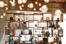 Beautiful Office Spaces / Gorgeous offices that make you want to work your socks off!