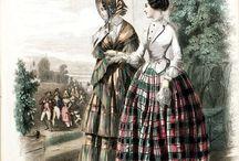 Kläder 1830-1869