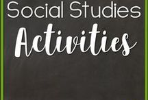 Social Studies Activities / Everything social studies including centers and instruction for kindergarten, 1st grade and 2nd grade.