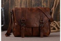 Leather Messenger Bags / Artisans hand-crafted canvas & leather bags to withstand the test of time. Our line include briefcase, messenger bags, weekend bags, women's fashion totes, handbags, overnight bags, travel bags, and photography bags. Perfect for modern go-getters. If you are looking for an accessory that is both highly functional and fashion-forward you are in the right place!  Welcome to visit our store : http://www.lisabag.com/