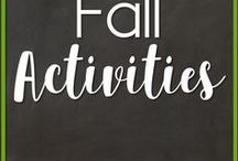 Fall Activities / All Fall Activities September through November for the kindergarten, 1st grade, or 2nd grade classroom, including Johnny Appleseed, Halloween, Apples, Pumpkins, Thanksgiving, fall leaves, etc.