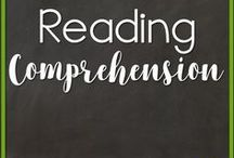 Reading Comprehension / Reading Comprehension activities and instructional strategies for the classroom.