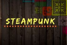 "Steampunk / STEAMPUNK Steampunk is a subgenre of science fiction or science fantasy that incorporates technology and aesthetic designs inspired by 19th-century industrial steam-powered machinery.  Although its literary origins are sometimes associated with the cyberpunk genre, steampunk works are often set in an alternative history of the 19th century's British Victorian era or American ""Wild West"" https://hespirides.com/collections/steampunk"