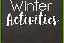 Winter Activities / Winter activities for the primary grades including arts, crafts, literacy, math and science!
