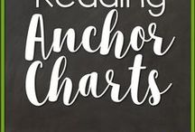 Reading Anchor Charts / Anchor charts that include skills appropriate for grades kindergarten, 1st or 2nd grade.