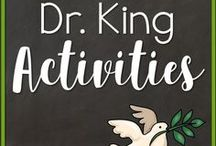 Dr. Martin Luther King Activities / Activities to supplement January activities specifically Dr. Martin Luther King, Jr. lessons for grades kindergarten, 1st and 2nd grade.