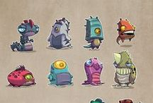 Creature Characters