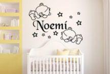 www.vinilosinfantiles.com / Nuestros consejos y diseños de decoración personalizados para tu hogar
