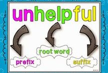 Prefixes Suffixes and Root Words / Games and Activities for Teaching
