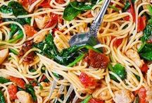 * Pasta /Zoodles/Sauces / The Best Pasta, Zoodle Dishes, and delicious Pasta Sauces by my favorite recipe bloggers.