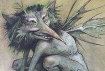 Faeries&Elves / They are not always pretty and cute