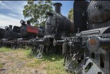 Trains Revival Project / The Rise Fall And Resurrection Of The Golden ERA Of  Steam Trains Communities and History. Back in time in Australian. Train History. Past, Present And future Restorative Projections and Dreams.