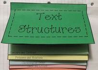 Text Structures / Compare & Contrast, Problems & Solutions, Sequencing, and Cause & Effect
