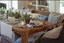 Winter Entertaining & Decorating / Elegant entertaining and decorating ideas for those cold winter months. For more inspiration, purchase a copy of our January/February issue: http://bit.ly/SLjanfeb / by Southern Lady Magazine - Southern Decor, Recipes, Home Inspiration