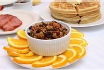 Breakfast and Brunch | #MorningGlory / Recipes for breakfast & brunch: muffins, granola, waffles, pancakes, eggs, breads, etc.