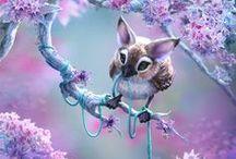 Fantasy animals / Sometimes cute...