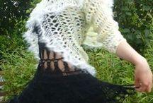 Вязание на шпильке- вилке