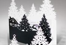 Inspiration - kort / Gratulationskort, julkort, vykort mm