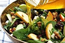 * Damn Delicious Salads / Delicious salad ideas for all the seasons