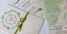 Wedding Stationary - Partecipazioni / Raccolta di #Partecipazioni e #coordinati per #matrimoni #weddingdesign #weddingstationary