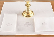 MASS LINENS / Corporals, Purificators, Chalice Palls and Towels, Church Supplies and Church Goods.