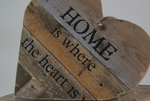 home is where the heart is / by Sarah Loveridge