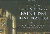 Libros de Conservación y Restauración de Arte y Patrimonio / Publicaciones relacionadas con la Conservación y Restauración, con la exhibición del Patrimonio, con el Movimiento y Manipulación de las Obras de Arte, con los materiales, las técnicas y cualquier otro tema relacionado con las labores de Conservación de nuestro Patrimonio