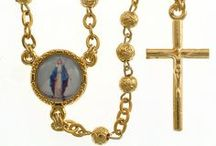 Metal Rosary Beads / These quality metal rosaries have all been crafted by artisans and imported from Italy. Catholic Gifts