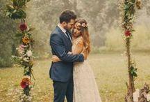 Casamento / Inspirações de vestidos de noiva, penteados, decoração, bolos, festa de casamento, convites diferentes e muito mais para seu grande dia ser per-fei-to.