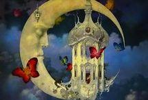 księżyc w ilustracjach