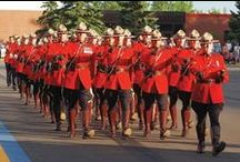Royal Canadian Mounted Police / by Sharon Farrar