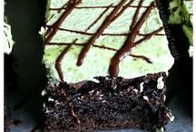 Beautiful Brownies / Mouthwatering Decadent Brownies of all sorts: gluten free, wheat, flourless, egg