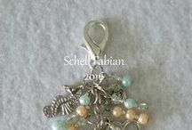 Beaded Treasures Creations / Guardian Angel Key Chain, Mini Album, Purse, Planner, Bottle Cap Charms, Scissor/Tweezer Charms, Anti Dust Plugs for Phones and Tablets and Beaded Bookmarks  Facebook Shop ~ https://www.facebook.com/beadedtreasuresbyschell/
