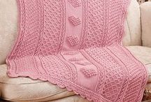 Crochet: Afghans (& some knit) / by Sharlene Tucker