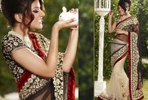 Swarovski Bridal Saree Collection