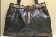 Bags Have Heart Daily / Eco friendly bags. Redesign garments handcrafted in handbags, totes, hobo bags, yoga bags, gym bags.  Daily specials. Leave a green foot print. http://www.haveheartdaily.net