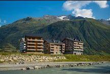 Apartment Houses / Die Apartmenthäuser von Andermatt Swiss Alps.