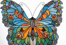 stained glass ideas / by Beverly Nelson