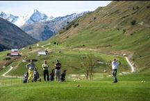 Golf Course / 18-Loch, Par 72-Golfplatz in Andermatt