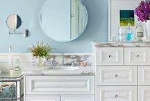 Bathroom Ideas / A collective board for bathroom ideas & DIY Tips, diy hacks, bathroom furniture, accessories and decoration. Find tips for cabinet,storage, vanity, dresser,tops,countertop or double sink design.