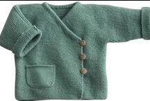 CROCHET -  para bébe e tricot
