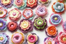 CROCHET - Flores