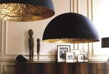 Home Decor: Lighting / Our selection of very unique wall lamps, table lamps, floor lamps and chandeliers for elegant, traditional and modern interiors.
