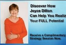 Complimentary Strategy Session with Joyce Dillon / Discover how Joyce can help you realize your full potential. Receive a complimentary strategy session by just clicking on the image.