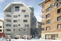 Apartmenthäuser Edelweiss und Wolf / Zusammen mit dem Investor Schmid Immobilien AG, Ebikon realisieren wir die Apartmenthäuser Edelweiss und Wolf