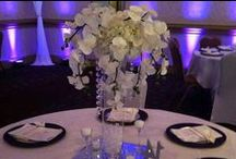 Centerpieces / The most beautiful Wedding Centerpieces! Submerged, flowers, feathers, branches, trees, and more! Styles in Real floral, real-touch, silk, and more!