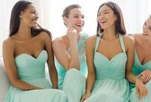 Bridesmaids - Dresses & More / Perfect bridesmaid dresses for anyone! Lots of colors, styles, trends, and inspirations.